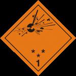 опасные грузы класс 1